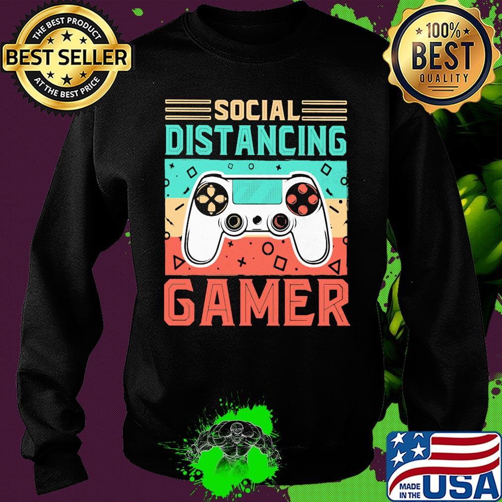 Social distancing gamer vintage s 17