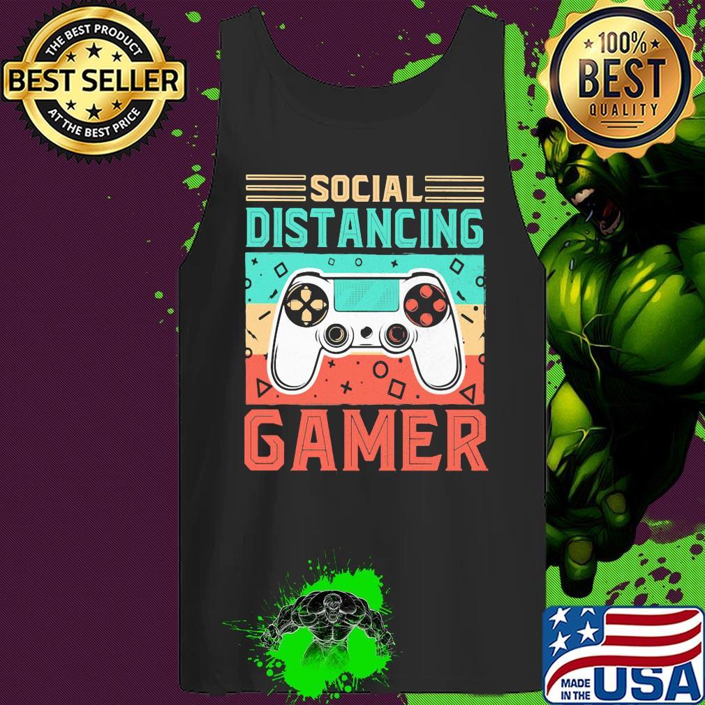 Social distancing gamer vintage s 6