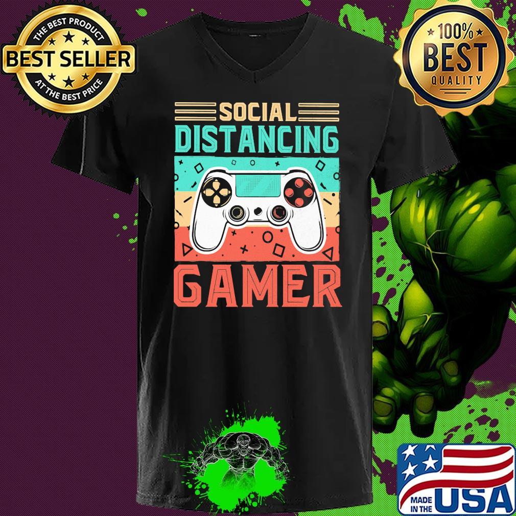 Social distancing gamer vintage s 7