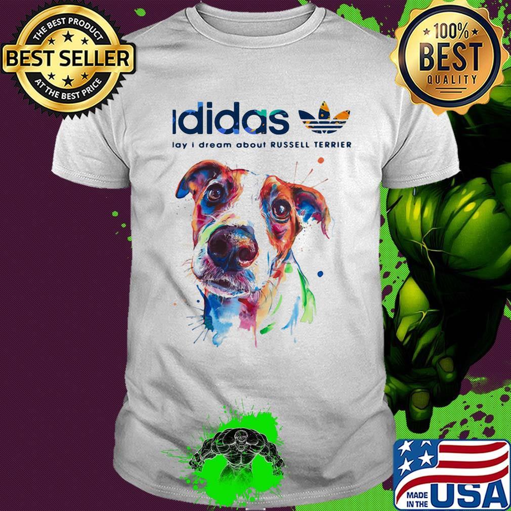 zapatos deportivos buena reputación elegante y elegante Adidas all day I dream about Russell Terrier dog shirt, hoodie ...