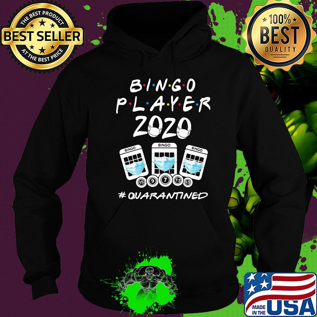 Bingo player 2020 #Quarantined NCOV 2019 shirt