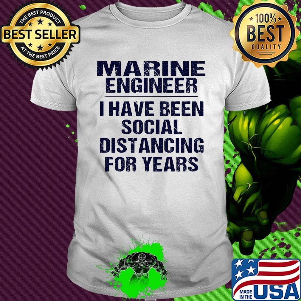 Engineer I Have Social Distancing for Years Vintage Men/'s Short Sleeve T-shirt