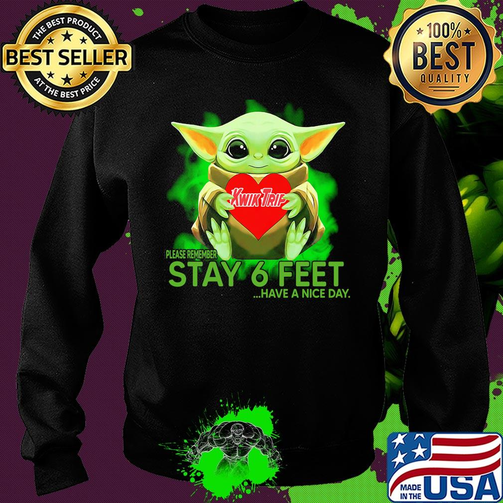 Kwik Trip 25 Days Of Christmas 2020 Baby Yoda hug KWIK TRIP please remember stay 6 feet have a nice