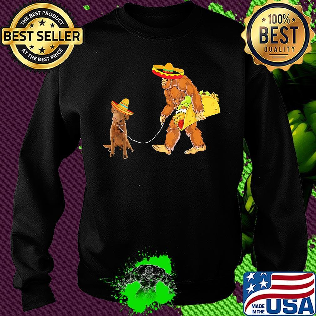 Vintage Bigfoot-1 Mens Short Sleeve Polo Shirt Regular Blouse Sport Tee
