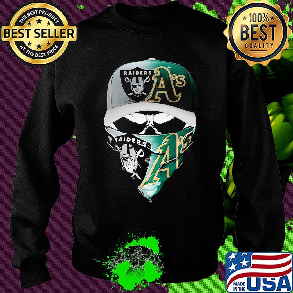 Oakland Raiders Cut And Sew Crew Neck Sweatshirt Mens Black