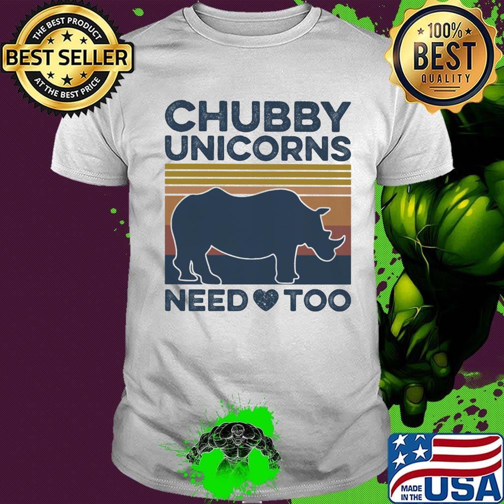 Save The Chubby Unicorns Tanks Top Sleeveless Shirts Fit Mens Cotton