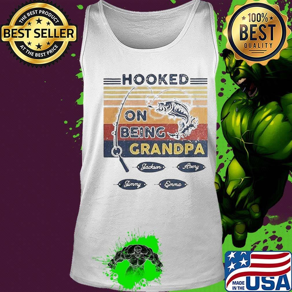 Im Going Fishing with My Grandpa Toddler//Kids Raglan T-Shirt Pack My Stuff