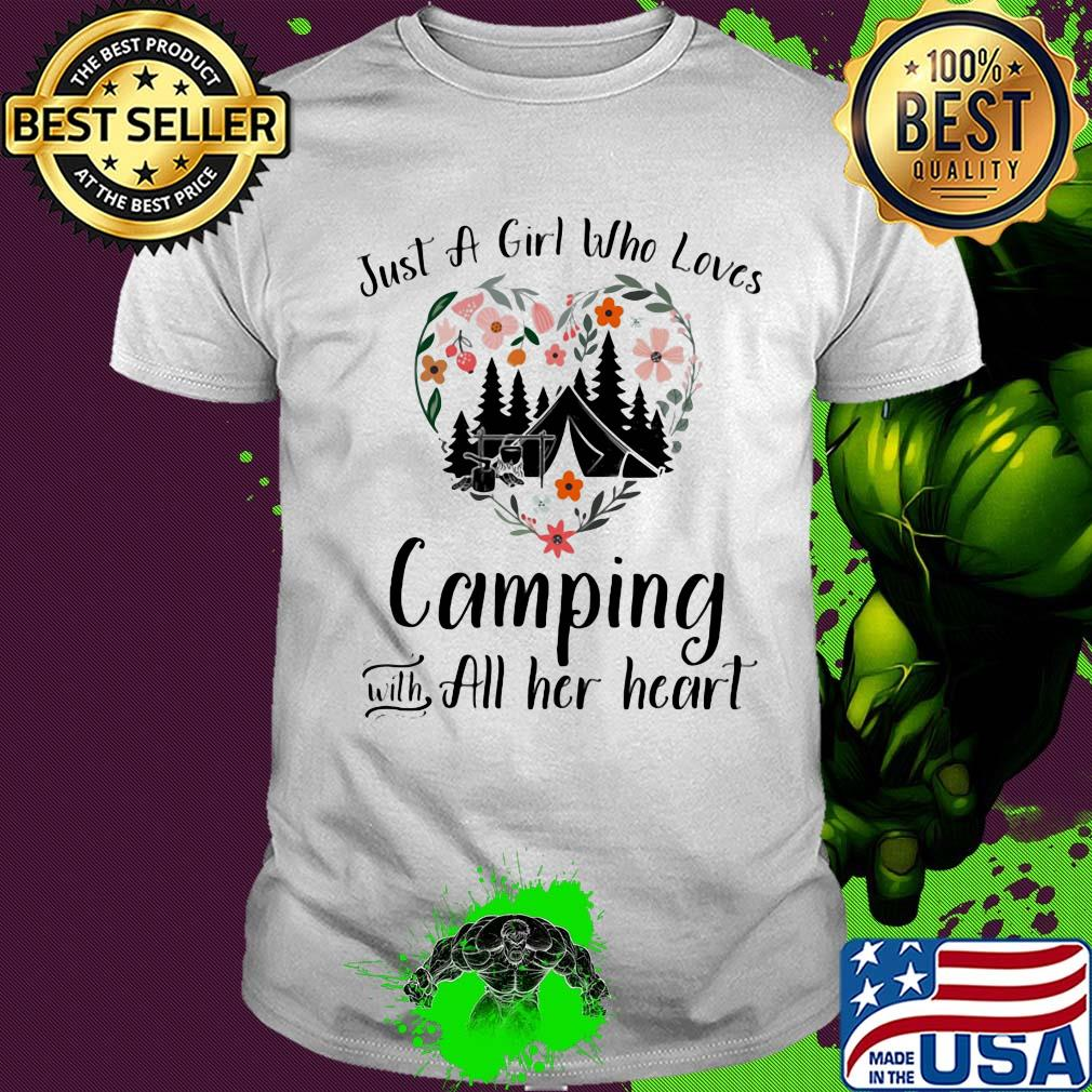 This Gal Loves Camping with Her Husband Unisex Sweatshirt tee
