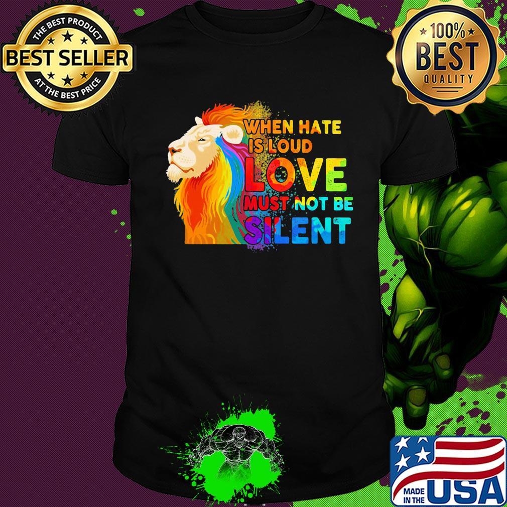 Love Hate Short-Sleeve Unisex T-Shirt Black