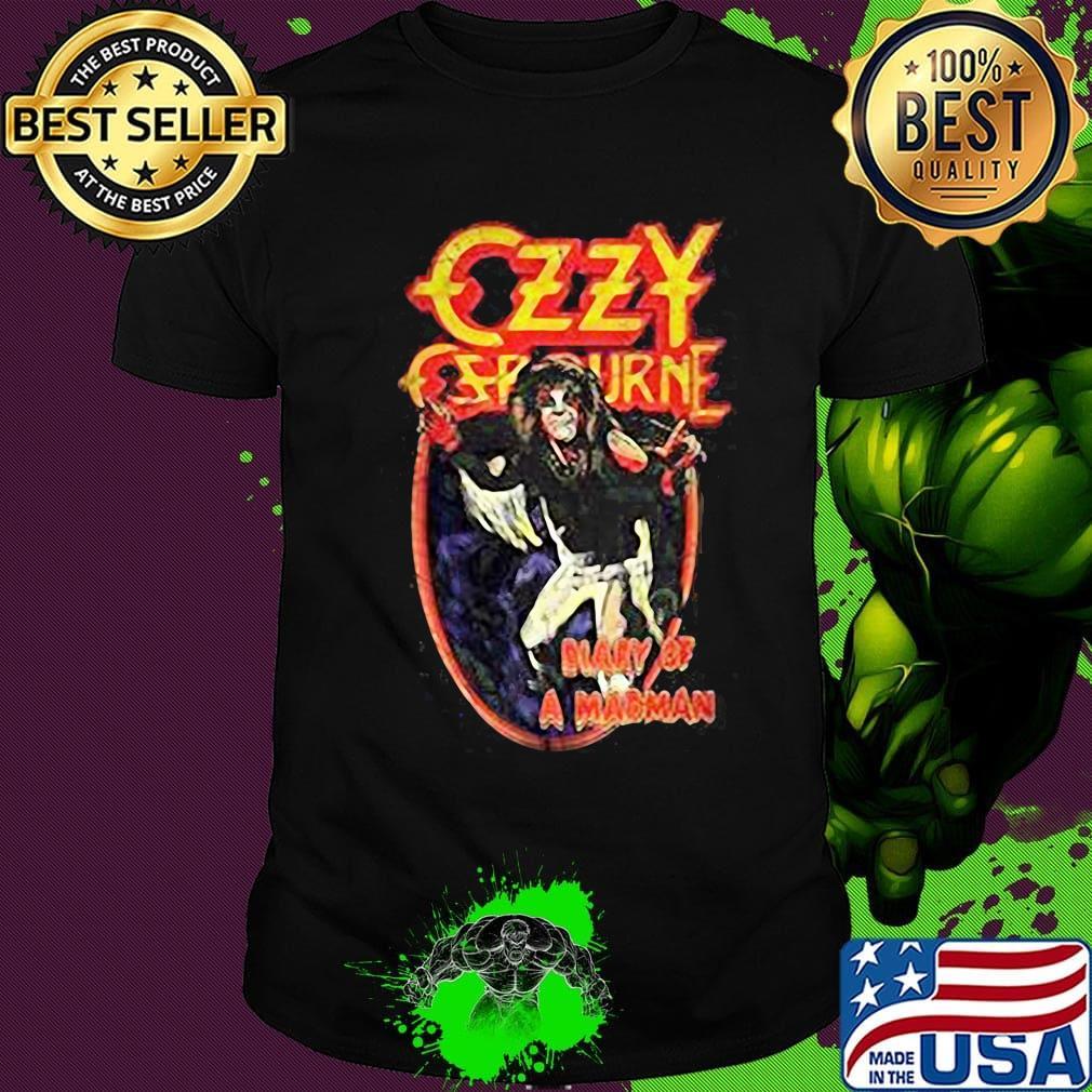 Ozzy Osbourne Mens Long Sleeve T-Shirt Tee Size S M L XL 2XL 3XL