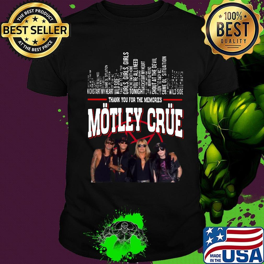 Motley Crue Band Photo Unisex Toddler T Shirt for Boys and Girls