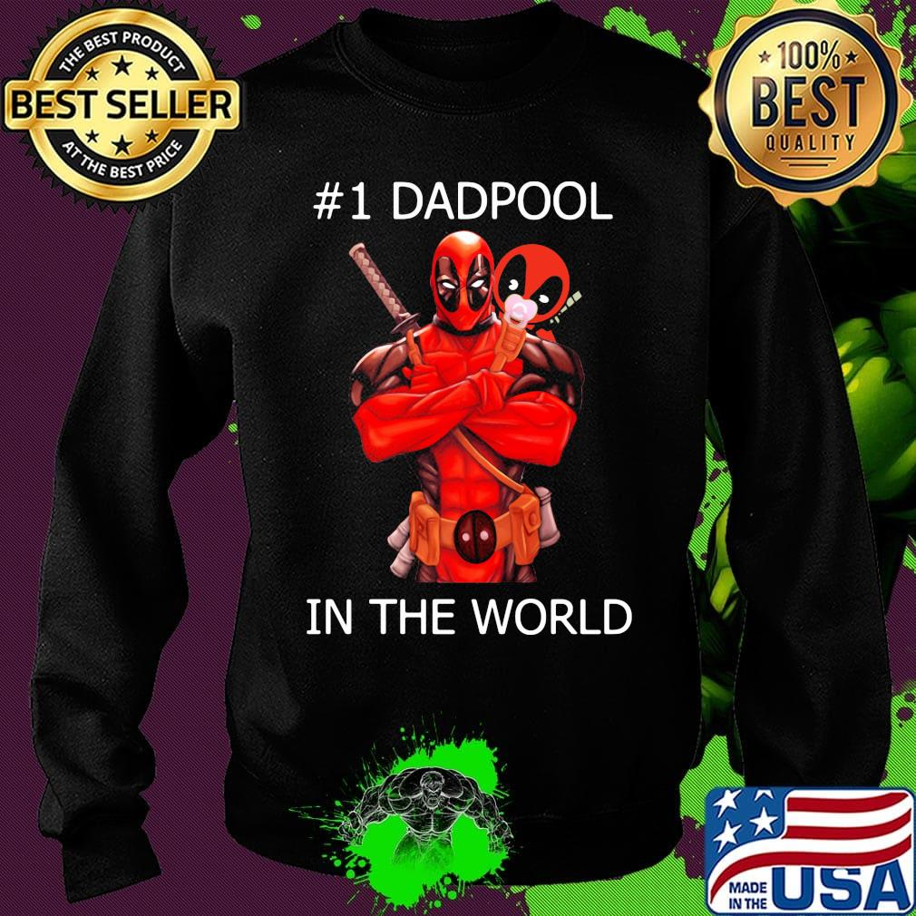 #1 Dadpool in the world s Sweater