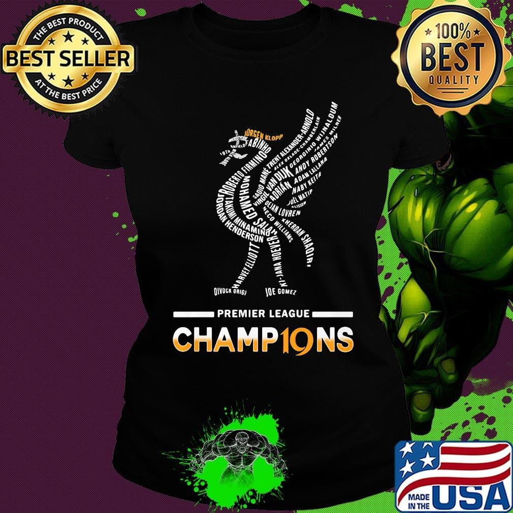 Liverpool Fc Premier League Champions 2019 2020 Logo Shirt Hoodie Sweater Long Sleeve And Tank Top
