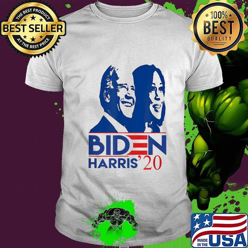Joe Biden Kamala Harris 2020 Vote Star Shirt Hoodie Sweater Long Sleeve And Tank Top