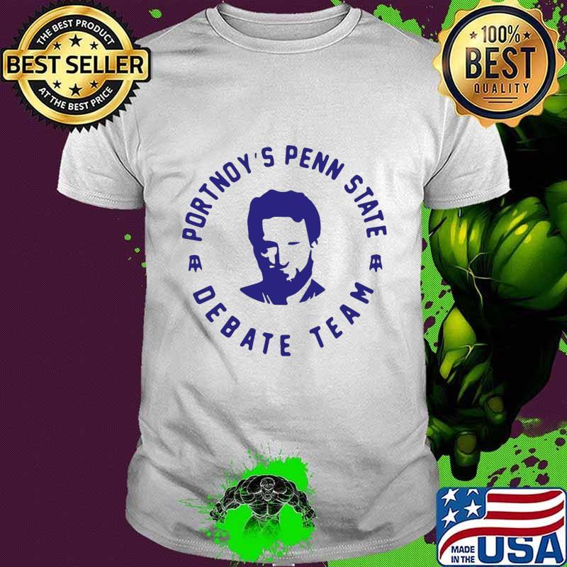 Portnoy's penn state debate team shirt