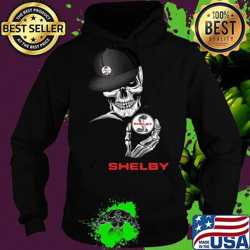 Skeleton skull shelby logo s Hoodie