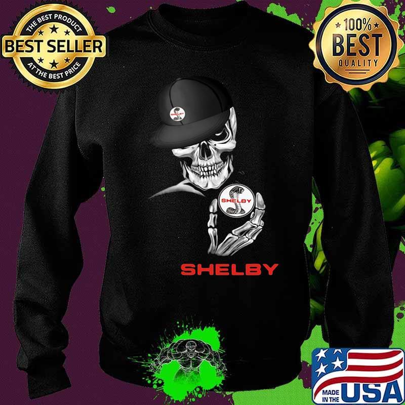 Skeleton skull shelby logo s Sweater