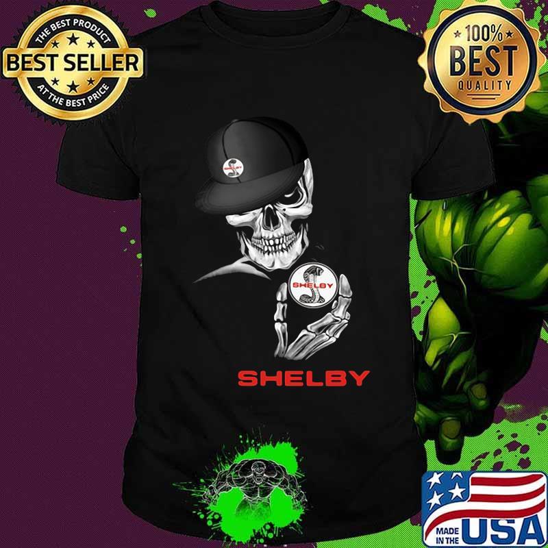 Skeleton skull shelby logo shirt