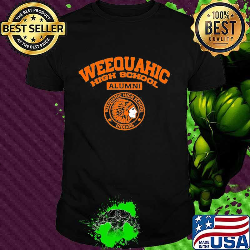 Weequahic high school alumni indians native shirt