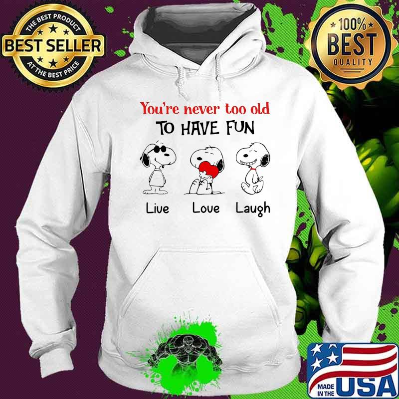 I just really love snoopy T shirt tank unisex pullover hoodie kids tee Funny gift for birthday christmas