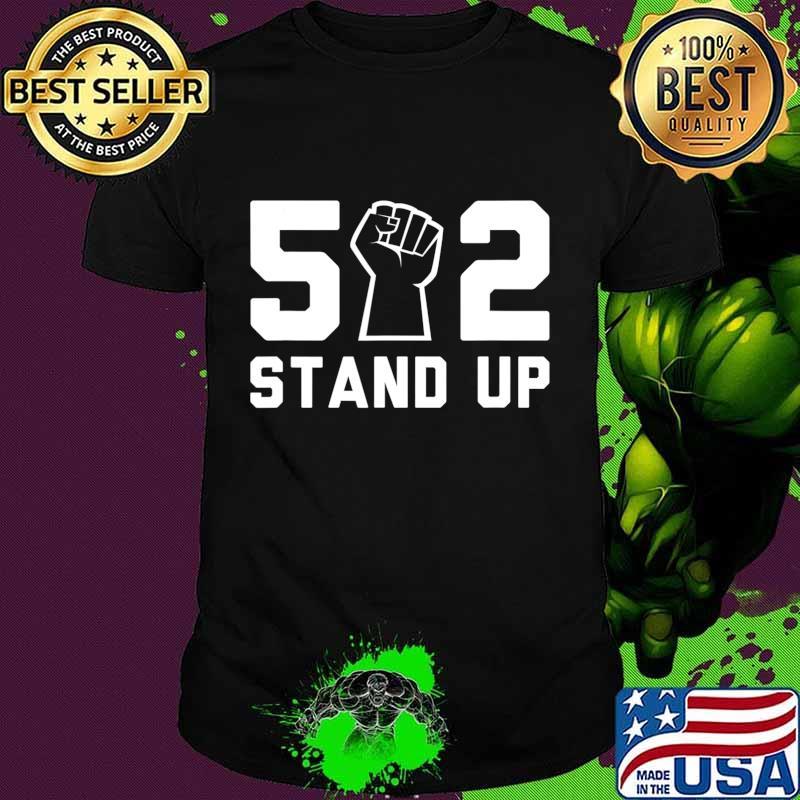 502 Stand Up Shirt BLM T-Shirt