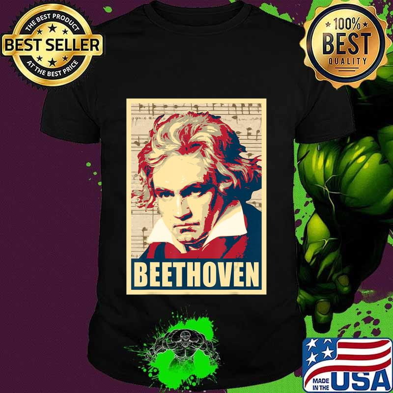 Beethoven Classical Music Composer Retro T-Shirt