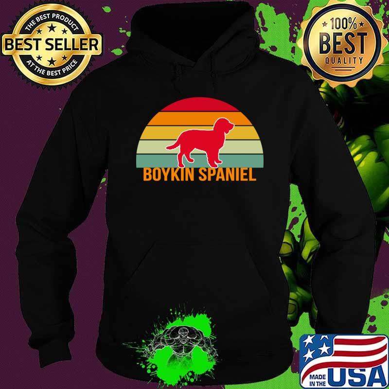 Boykin Spaniel Vintage Silhouette T-Shirt Hoodie
