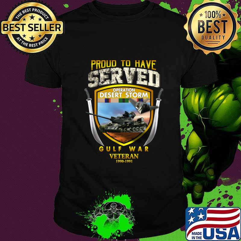Desert Storm Gulf War Veteran 1990-1991 T-Shirt