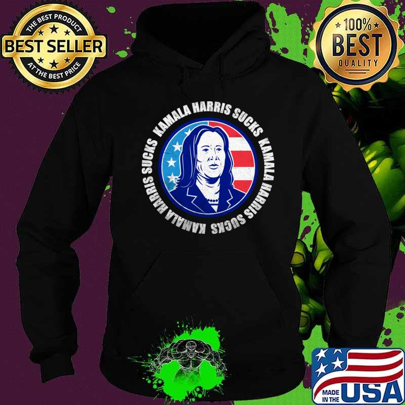 Kamala Harris Sucks Anti Kamala T-Shirt Hoodie
