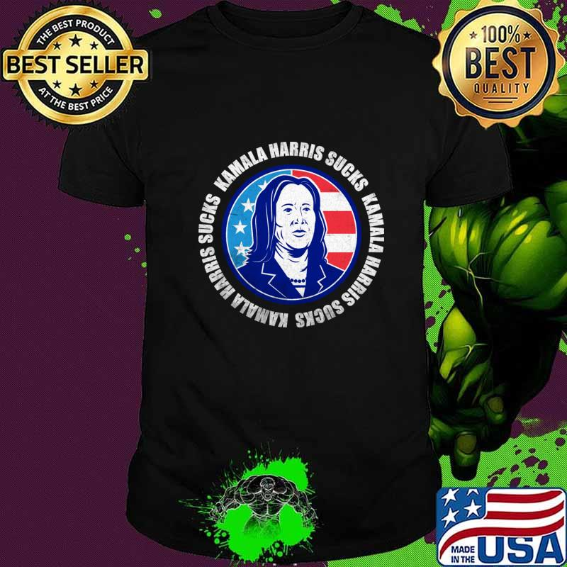 Kamala Harris Sucks Anti Kamala T-Shirt