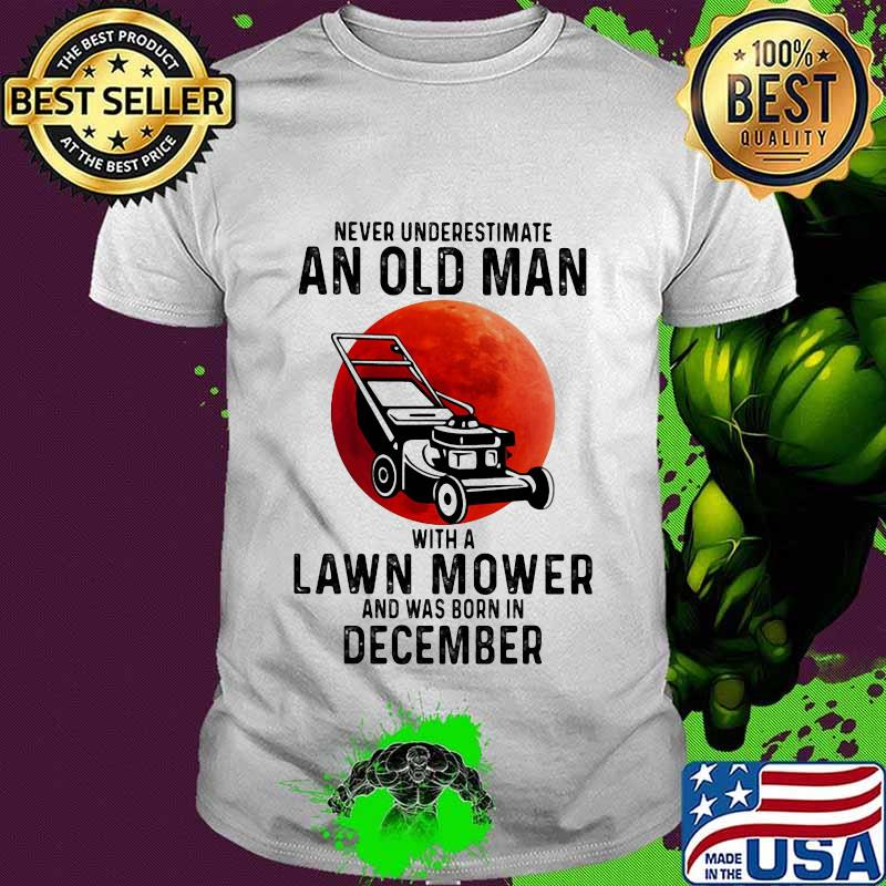 Old Man Was Born In August Is Me Birthday Gift Men White T Shirt S-5XL