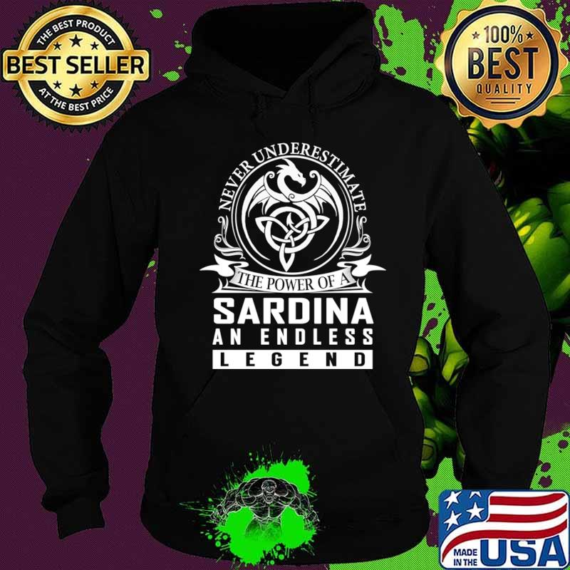 Never Underestimate The Power of a SARDINA T-Shirt Hoodie
