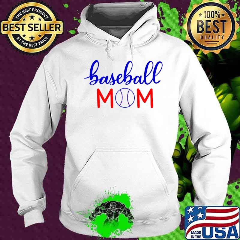 Official Baseball Mom T-Shirt Hoodie