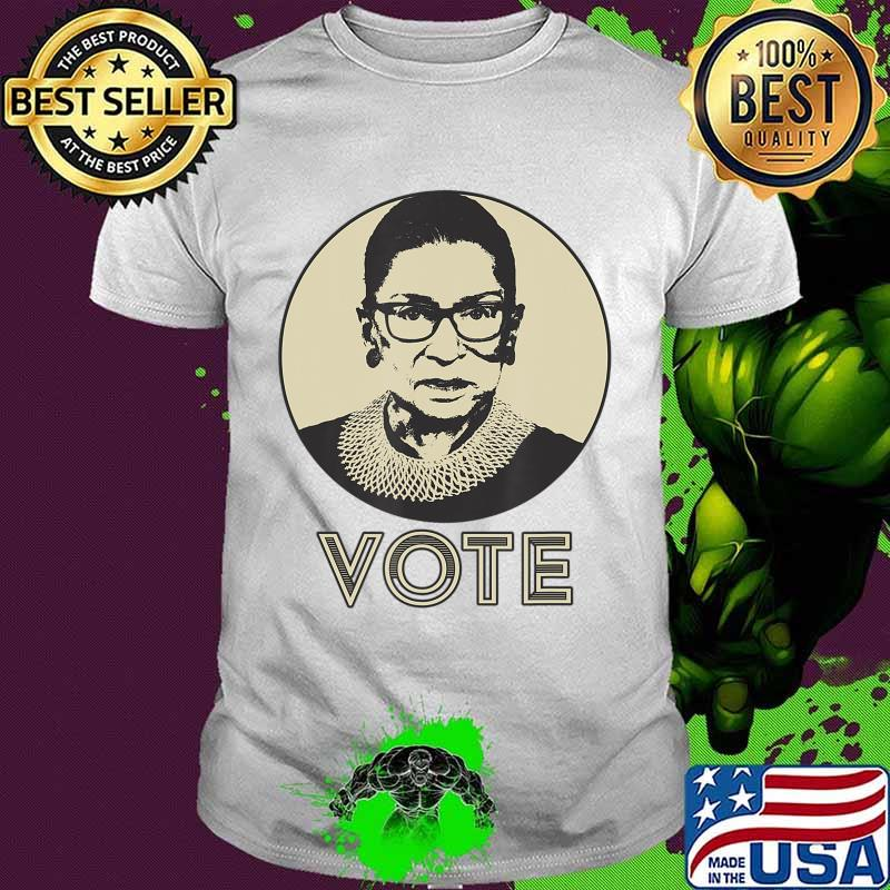 Ruth Bader Ginsburg RBG VOTE T-Shirt