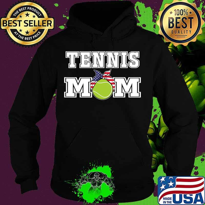 'Tennis Mom' Girls Gift for Mothers of Womens Tennis Players T-Shirt Hoodie
