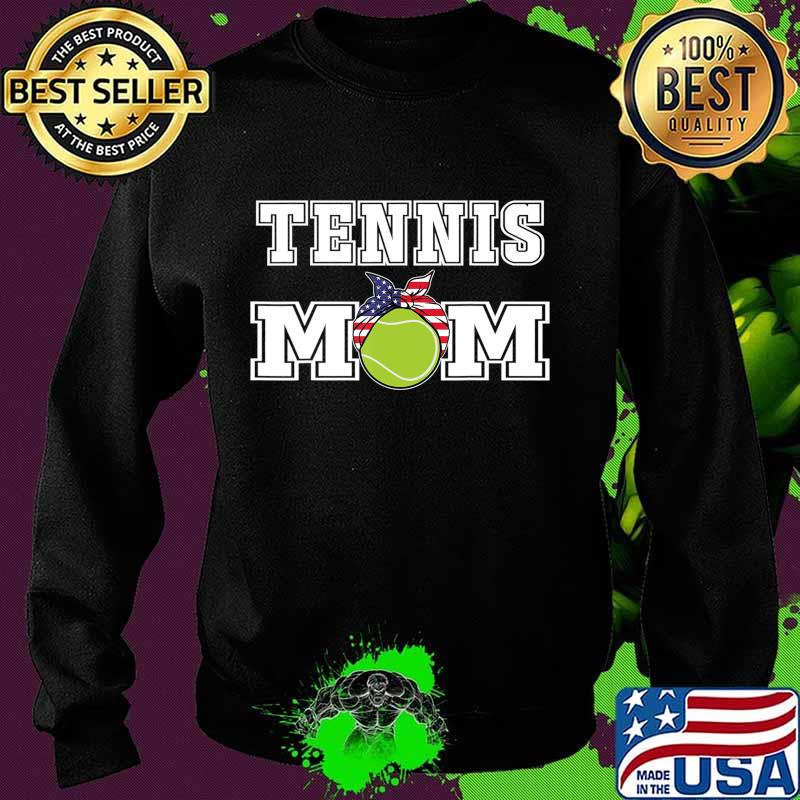 'Tennis Mom' Girls Gift for Mothers of Womens Tennis Players T-Shirt Sweater