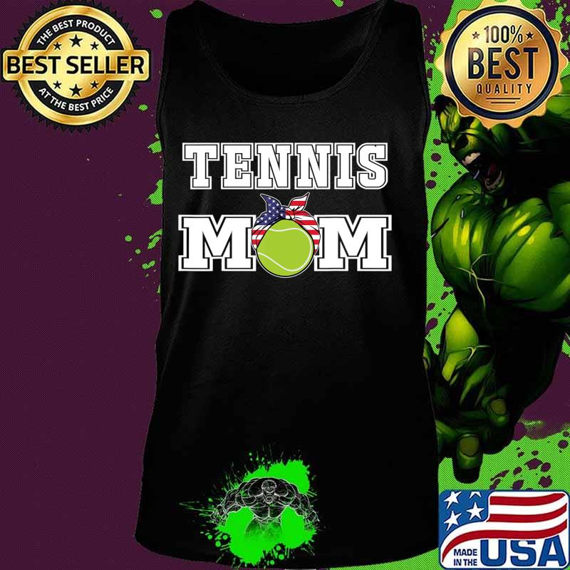 'Tennis Mom' Girls Gift for Mothers of Womens Tennis Players T-Shirt Tank top