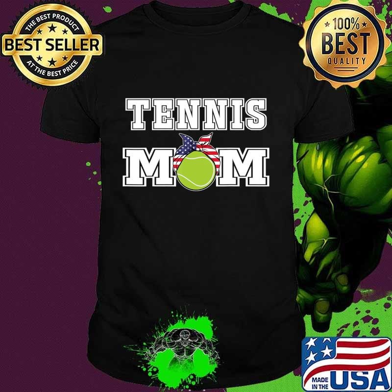 'Tennis Mom' Girls Gift for Mothers of Womens Tennis Players T-Shirt