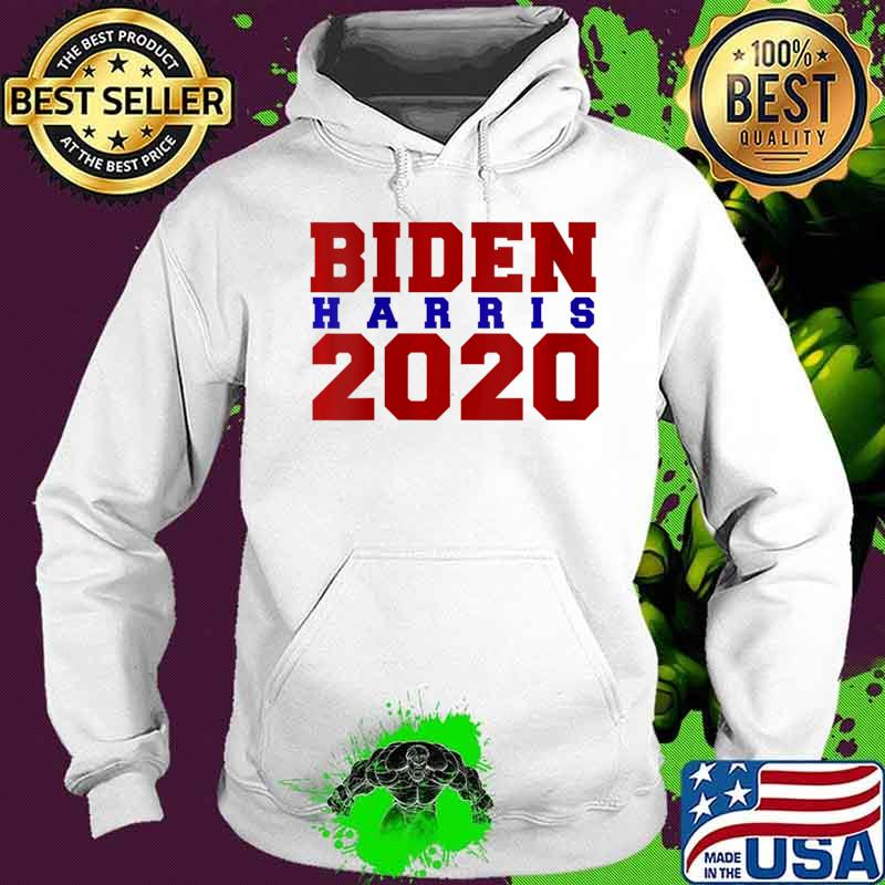 Womens Biden Harris 2020 V-Neck T-Shirt Hoodie