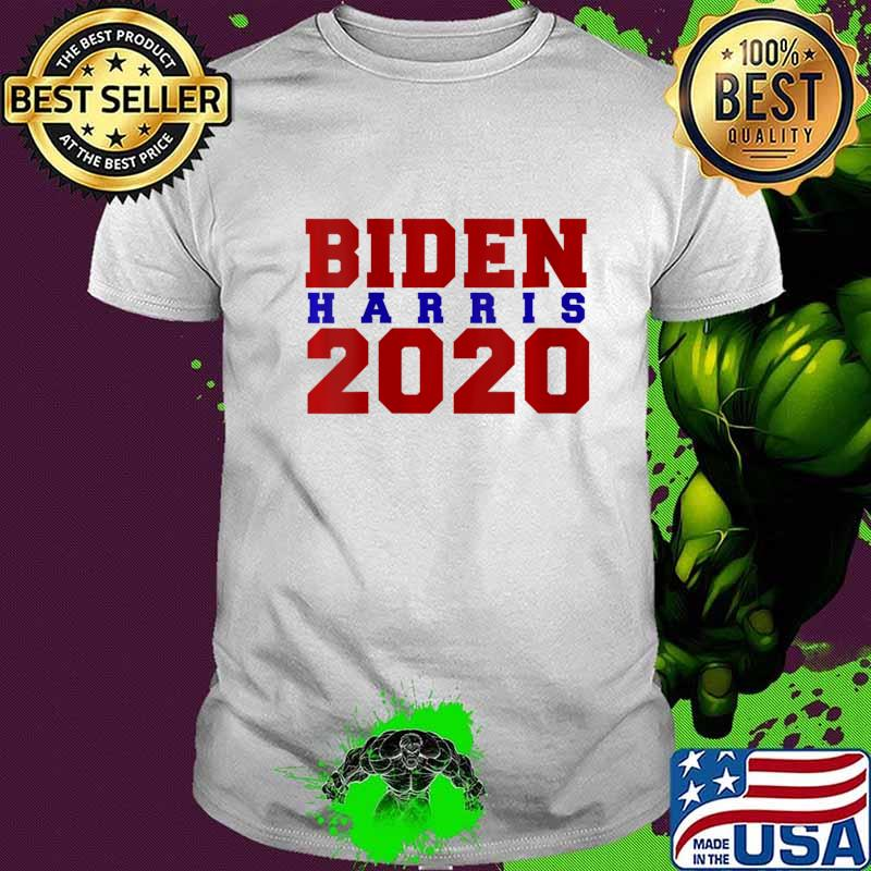 Womens Biden Harris 2020 V-Neck T-Shirt