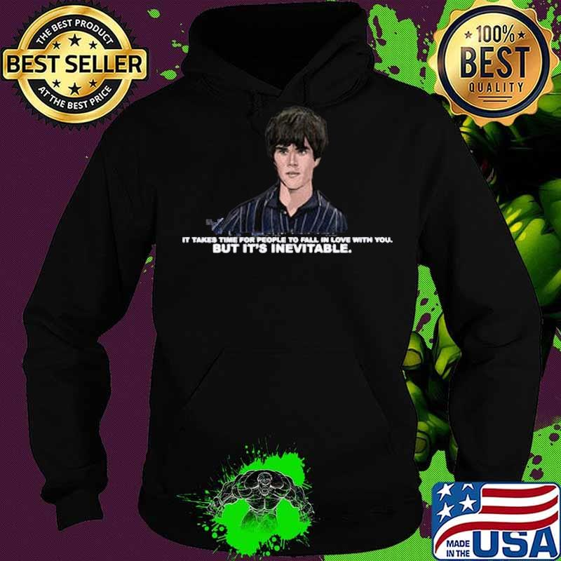 Ian brown it takes time for people to fall in love with you but it's inevitable s Hoodie