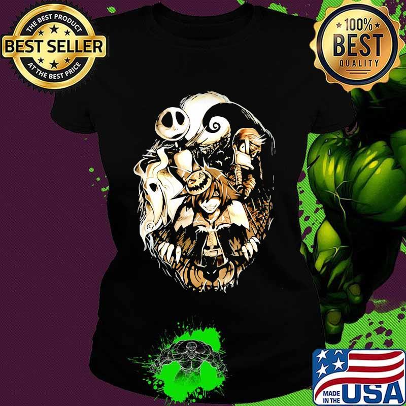 Jack Skellington Nightmare Naruto Happy Halloween Shirt Hoodie Sweater Long Sleeve And Tank Top