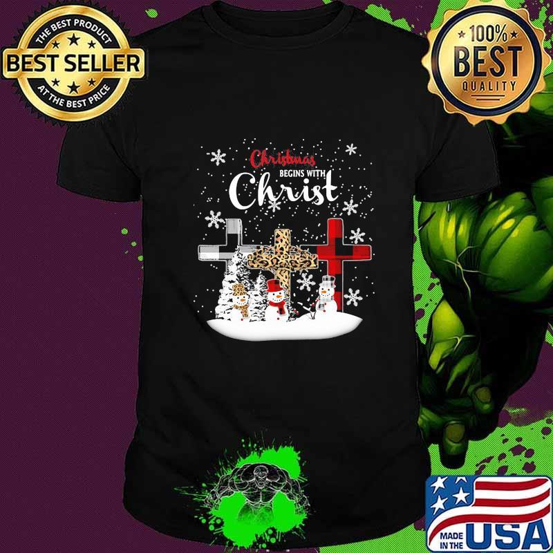 2020  Christmas Snowman Merry christmas snowman leopard with christ 2020 shirt, hoodie