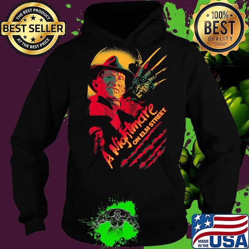 Nightmare on Elm Street Freddy Claws T-Shirt Hoodie