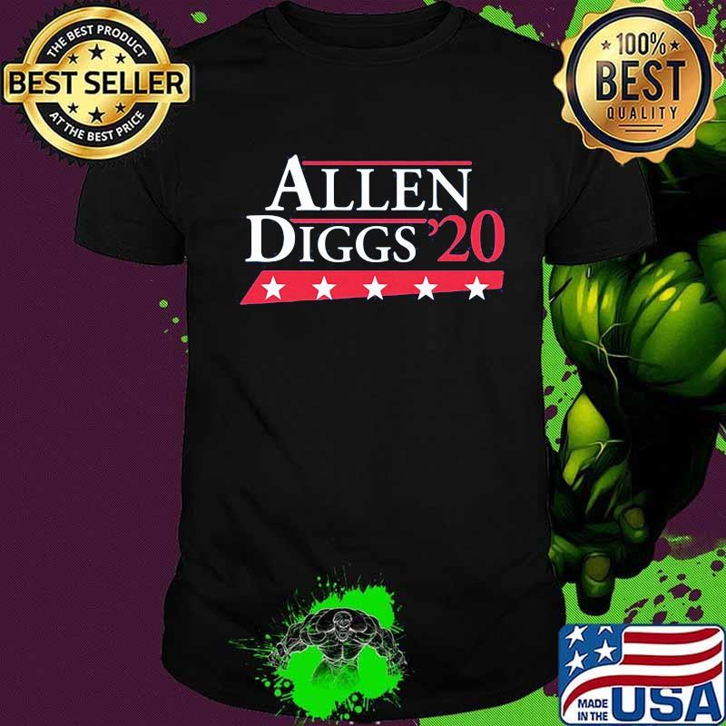 Official allen diggs 2020 shirt