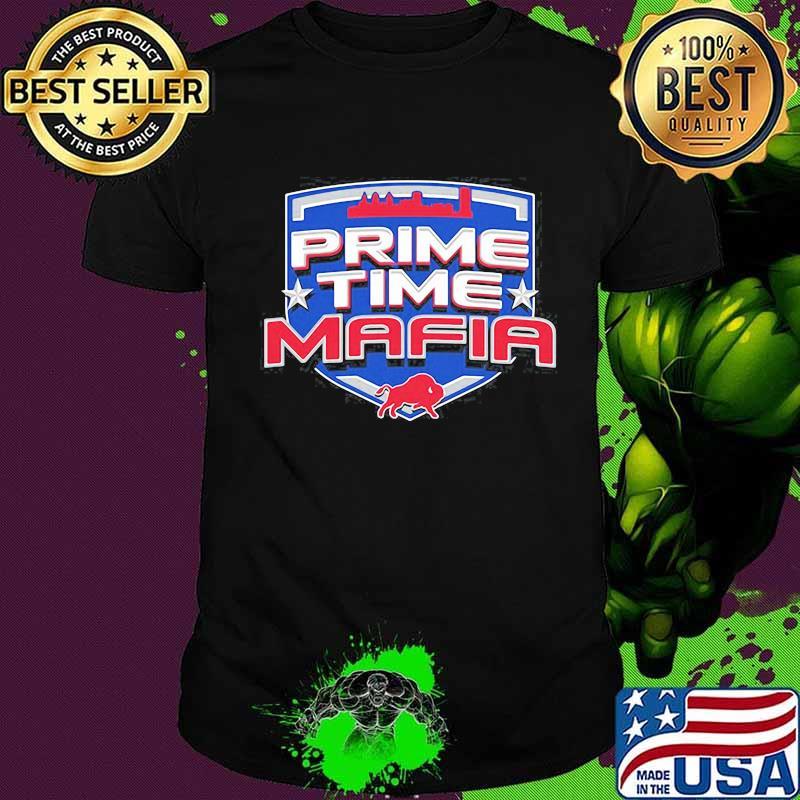 Prime time mafia buffalo shirt