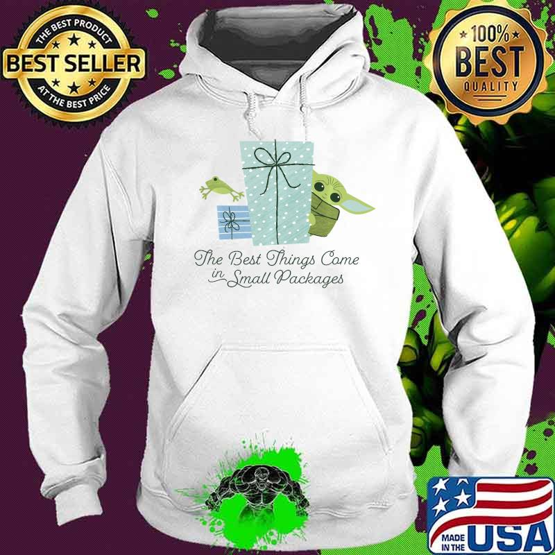Star Wars Christmas The Child Best Things In Small Packages Shirt Hoodie