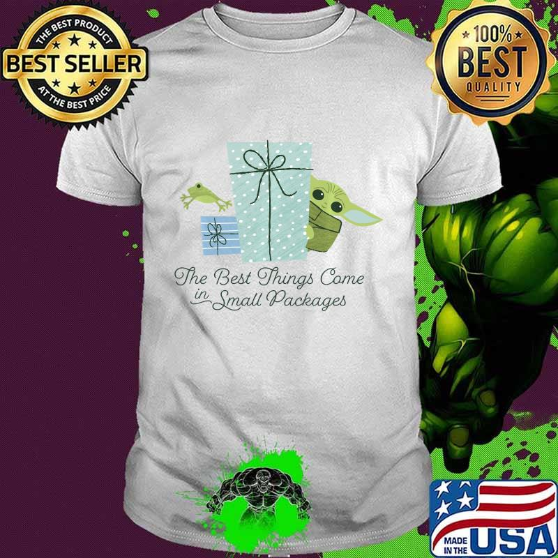 Star Wars Christmas The Child Best Things In Small Packages Shirt