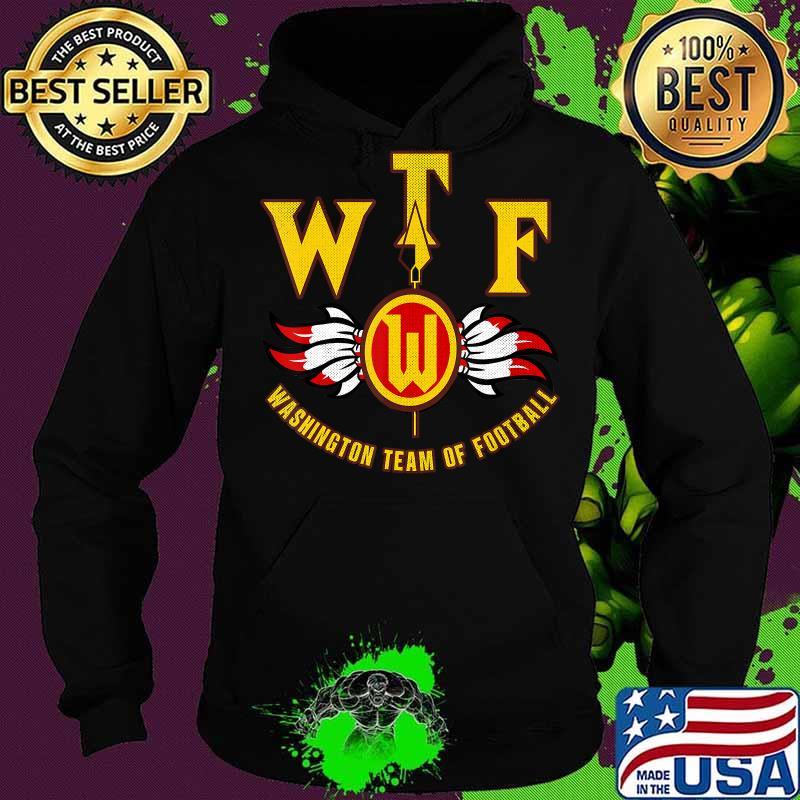 WTF Washington Football DC Sports Team Shirt Hoodie