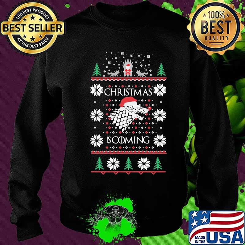 Christmas Is Coming Santa Clause Merry Xmas Shirt Sweater
